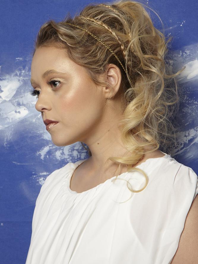 La Déesse de l'amour - makeup by Moonlight Makeup Artist.