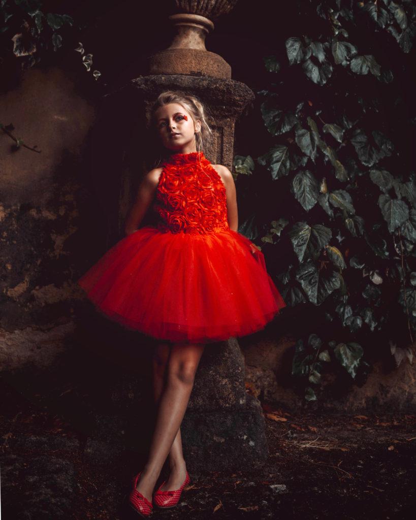 Red Ballerina - makeup par Moonlight Makeup Artist.
