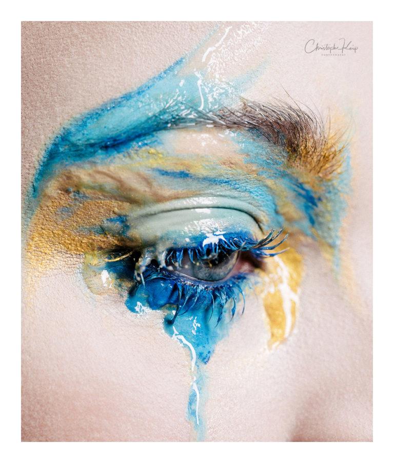 Exposition - makeup by Moonlight Makeup Artist.