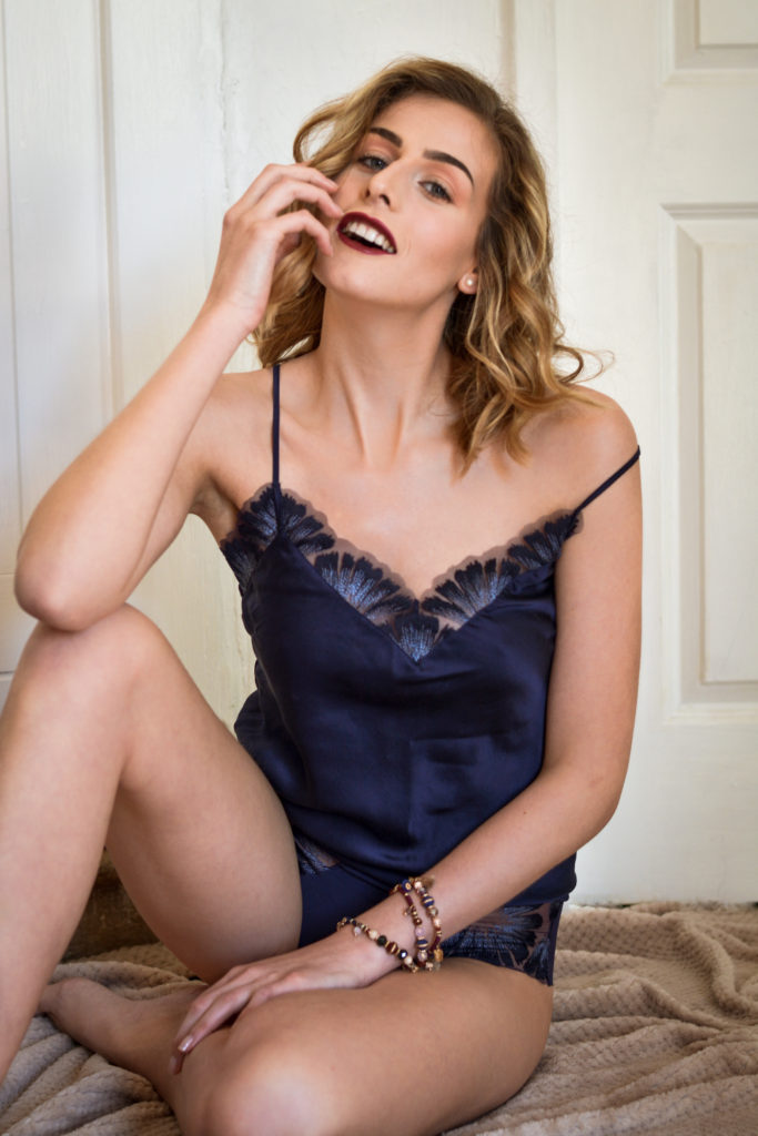 Simone Pérèle – Brand Shooting - makeup by Moonlight Makeup Artist.