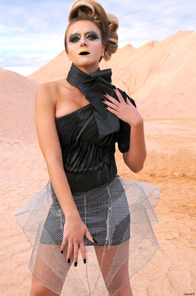 Seule sur Mars - makeup by Moonlight Makeup Artist.