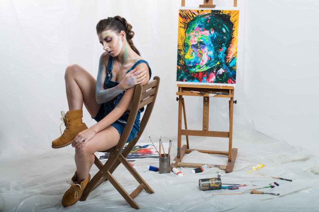 Paint makeup par Moonlight Makeup Artist.