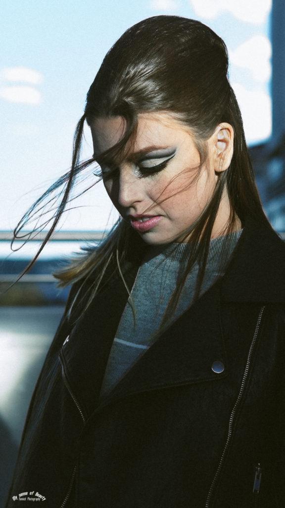 60's Retro Chic - makeup by Moonlight Makeup Artist.