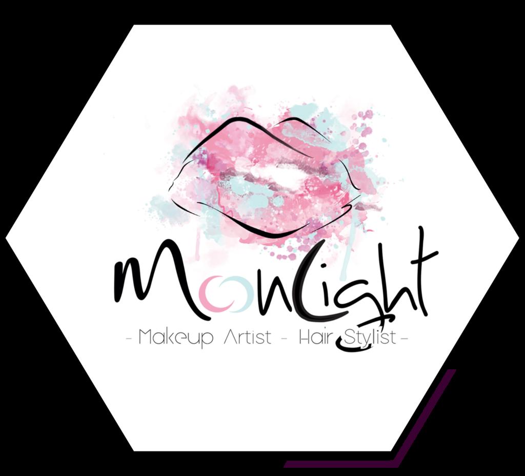 Moonlight Makeup Artist Logo