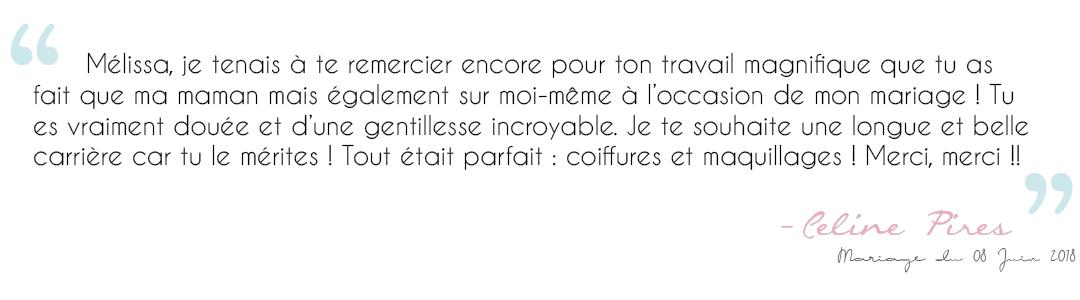 Avis Céline Pires