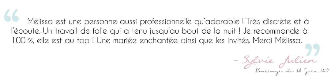 Avis Sylvie Julien